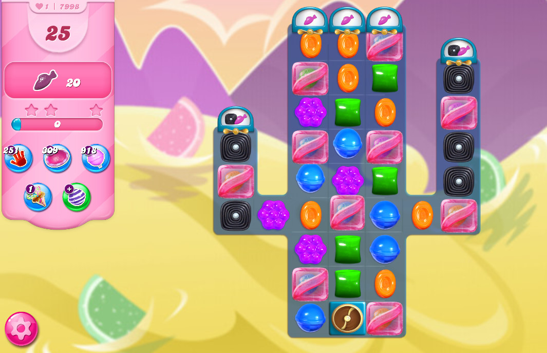 Candy Crush Saga level 7998