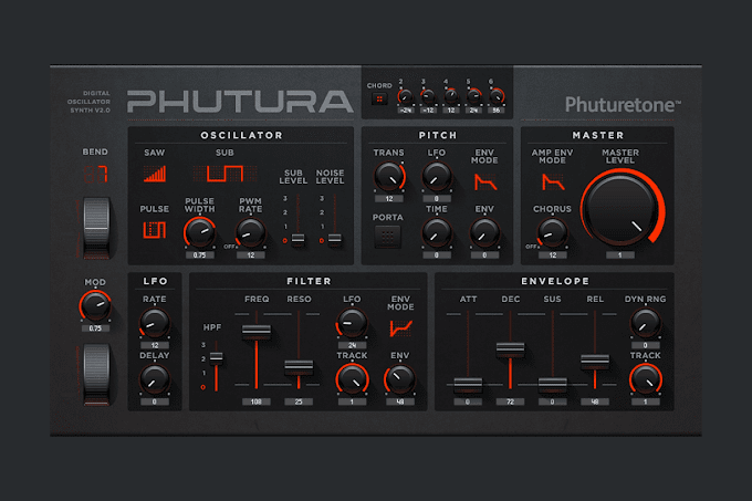 Polyphonic DCO Synth for NI Reaktor