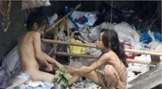 Astaghfirullah.!! Sepasang Remaja dibesarkan ribuan tikus di gorong-gorong !