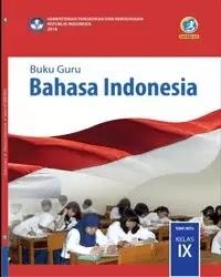 Buku bahasa indonesia Guru Kelas 9 k13 2018