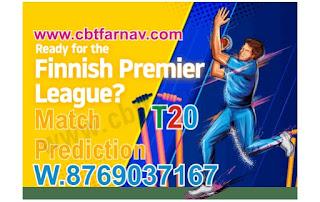 Today match prediction ball by ball FPL T20 Vantaa CC vs SKK Stadin Ja Kervan Kriket 29 June 2020 100% sure Tips✓Who will win VCC vs SKK Match astrology