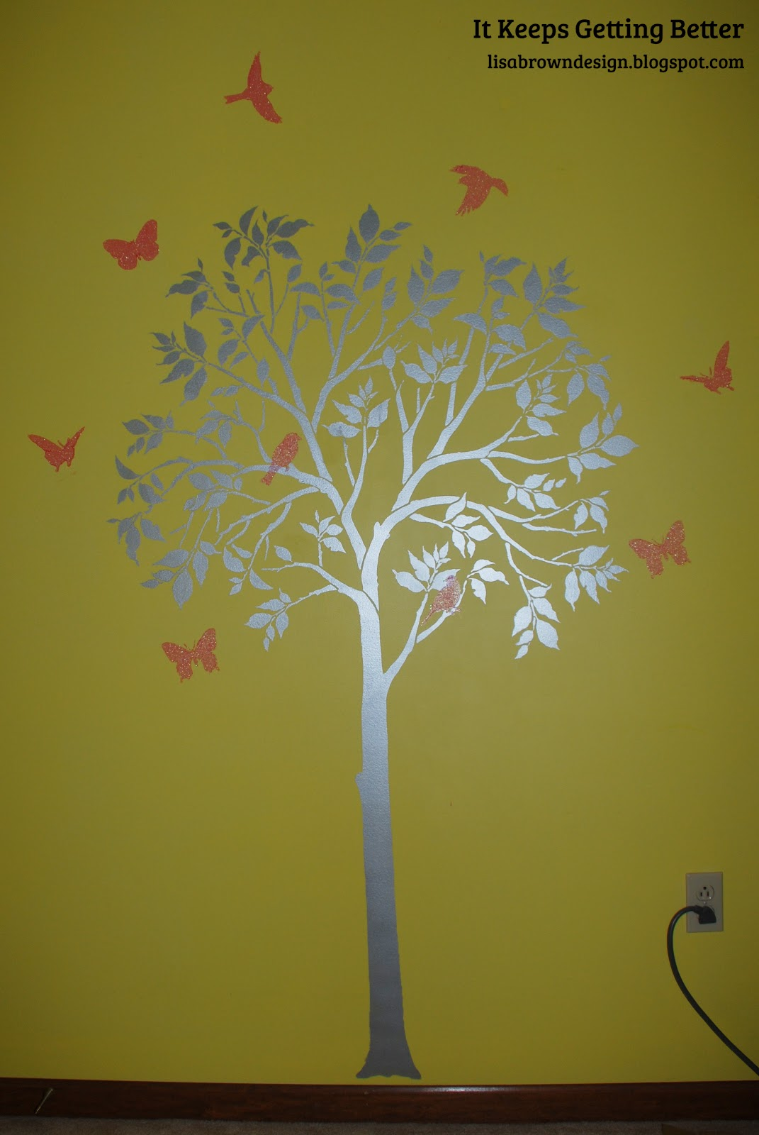 large tree template for wall - cutting edge stencils review it keeps getting better