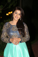 Nikki Galrani in Green Skirt  Top at Marakathamani music launch ~  Exclusive (57).JPG