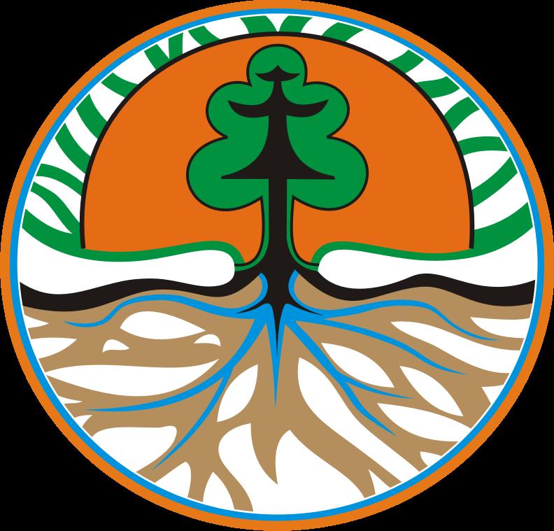 Bordir Komputer Kota Mataram Lombok Ntb 081917098634 Logo Kehutanan