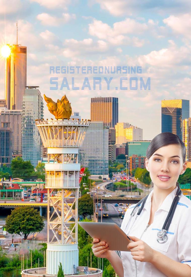registered nurse salary in georgia