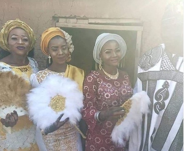 Wedding Photos Of The Ghanaian Man Who Married 3 Wives On Same Day
