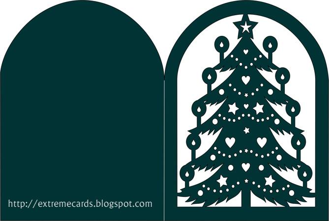 Download Christmas Tree Lantern or Card