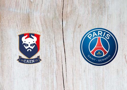 Caen vs PSG -Highlights 10 February 2021