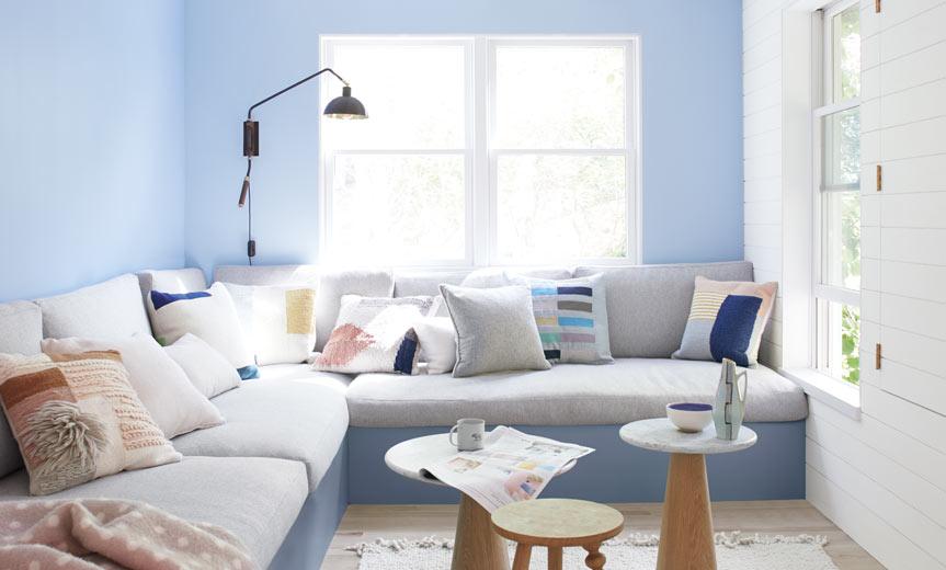 Warna Cat Rumah Pastel