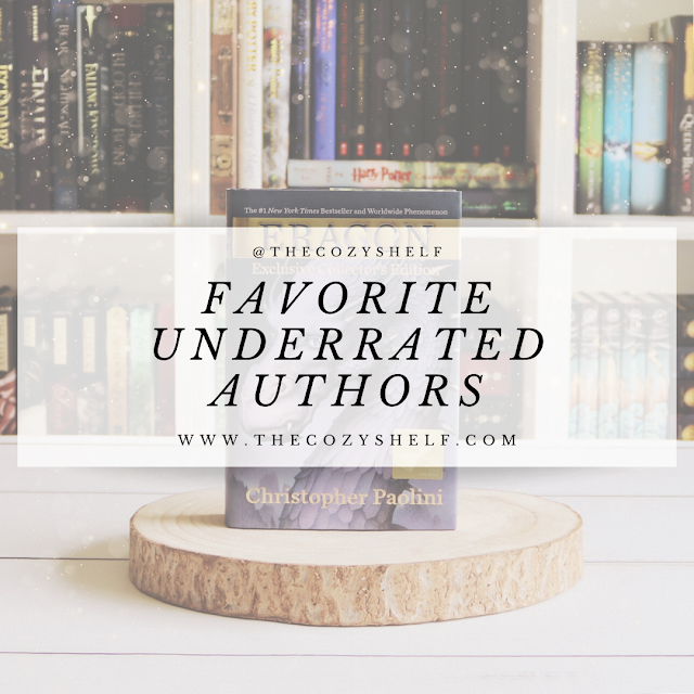 My favorite underrated authors.