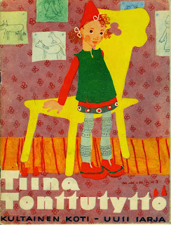 Irjan kirja, Martti Haavio, Tiina tonttutyttö, satu