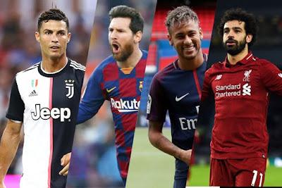 10 Pemain Sepakbola Berpenghasilan Terbesar di Dunia