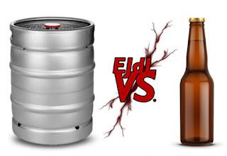 ¿Es mejor la cerveza de grifo o de botella?