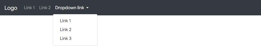 Membuat Navbar dengan Dropdown di Bootstrap 4