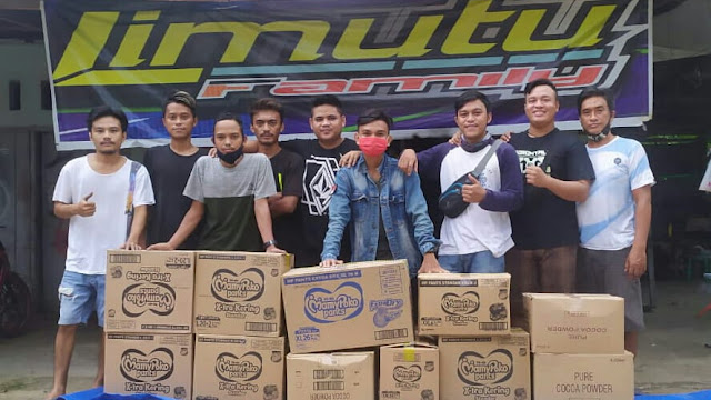 Racing Team Limutu Famili, Galang Dana Buat Korban Banjir Bone Bolango