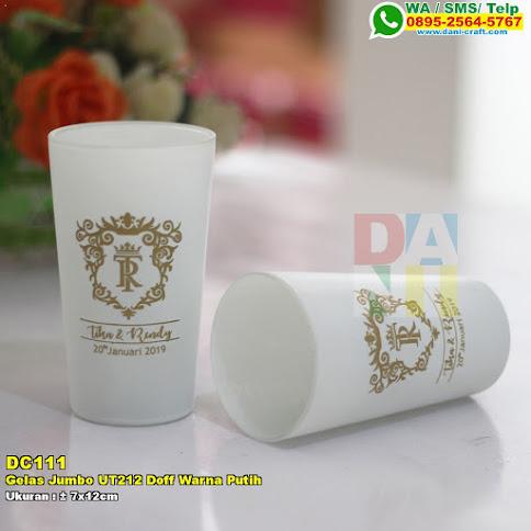 Gelas Jumbo UT212 Doff Warna Putih