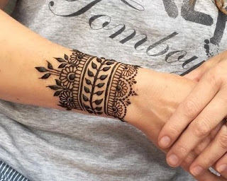 45 Trending Bangle Mehndi Designs For Hands Kangan Mehndi