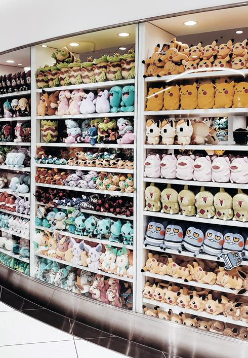 Pokemon Center Tokyo Japan