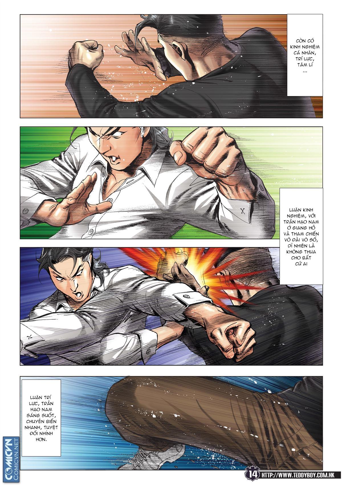 Người Trong Giang Hồ chapter 2093: nó là tay trong trang 13