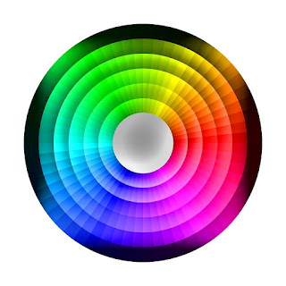 Color wheel, colour correcting