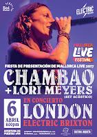 Concierto de Lori Meyers y Chambao en Electric Brixton