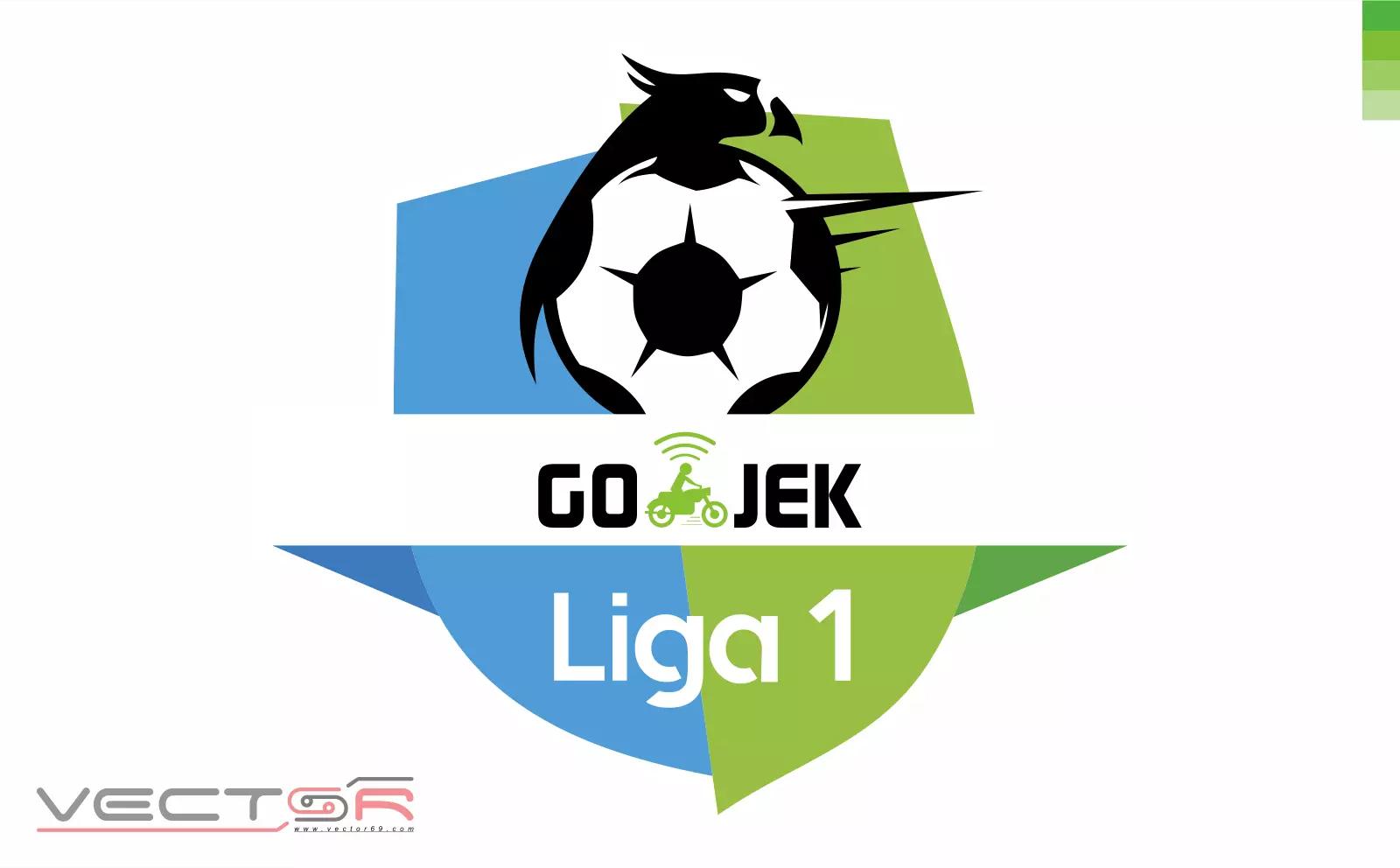 Gojek Liga 1 Indonesia Logo - Download Vector File CDR (CorelDraw)