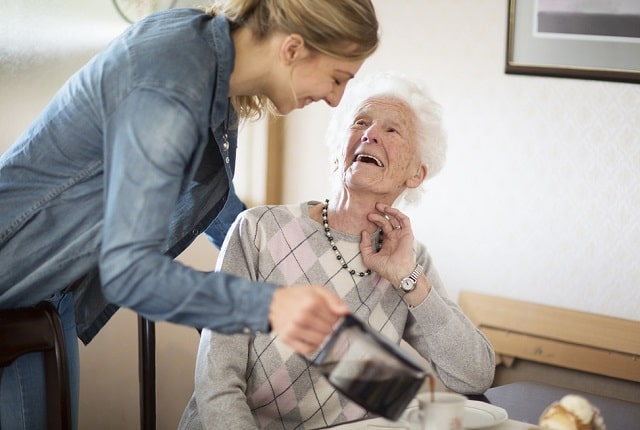 how to care for elderly relative