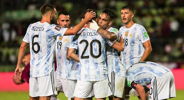 ملخص واهداف مباراة الارجنتين وفنزويلا (3-1) تصفيات كأس العالم