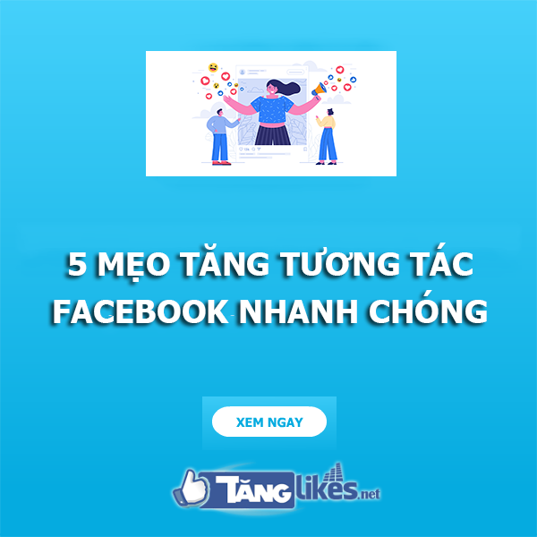 tang tuong tac tren facebook