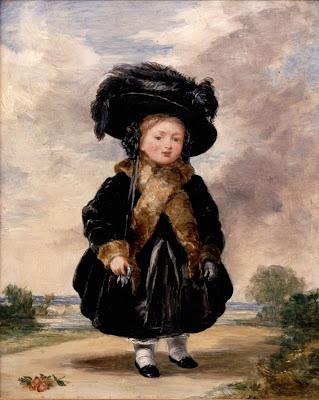 Πορτραίτο της Πριγκίπισσας Βικτώριας σε ηλικία τεσσάρων ετών