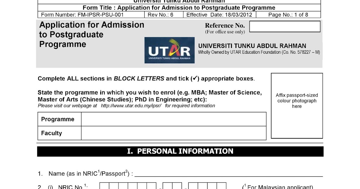 PG+Application+Form+--+18.03.12-page-001 Pport Application Form Fill Up Block Letter on
