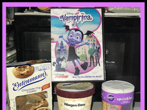 Disney Vampirina Inspired Ice Cream Sandwiches & A Giveaway