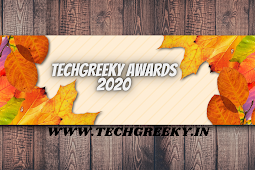 Techgreeky Smartphone awards 2020: The Winners