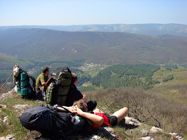 Вид с горы Кара-Тепе в сторону Красносёловки
