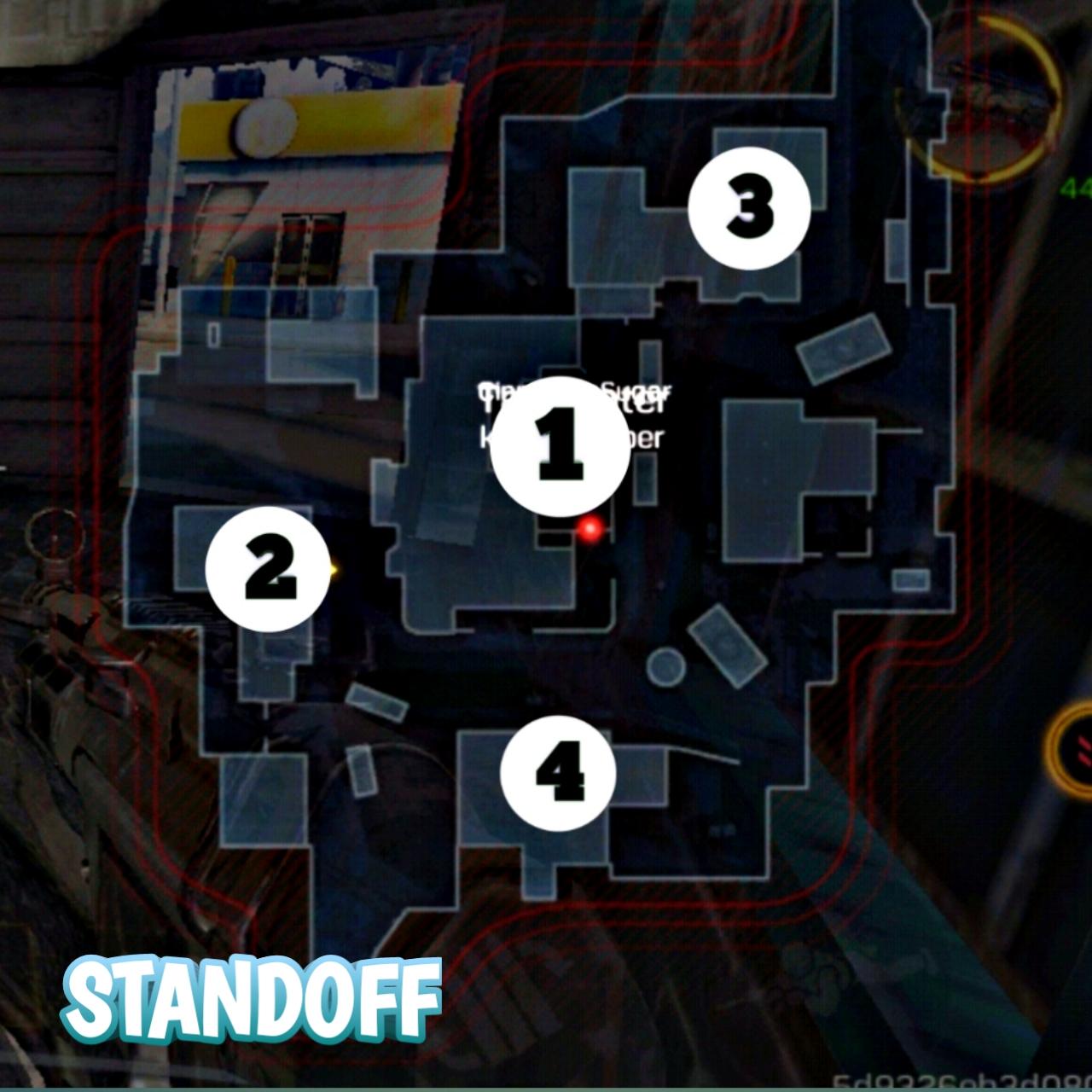 Standoff Hardpoint location