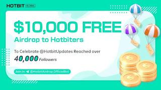 Airdrop Hotbit Global Dapatkan $10.000 Gratis