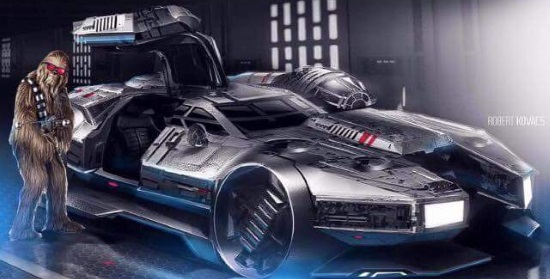 Revengeofthe5th net: Chewie has a new ride for Back to the