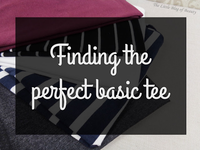Finding the perfect basic tee