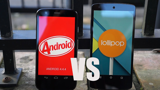 android-kitlat-vs-android-lollipop