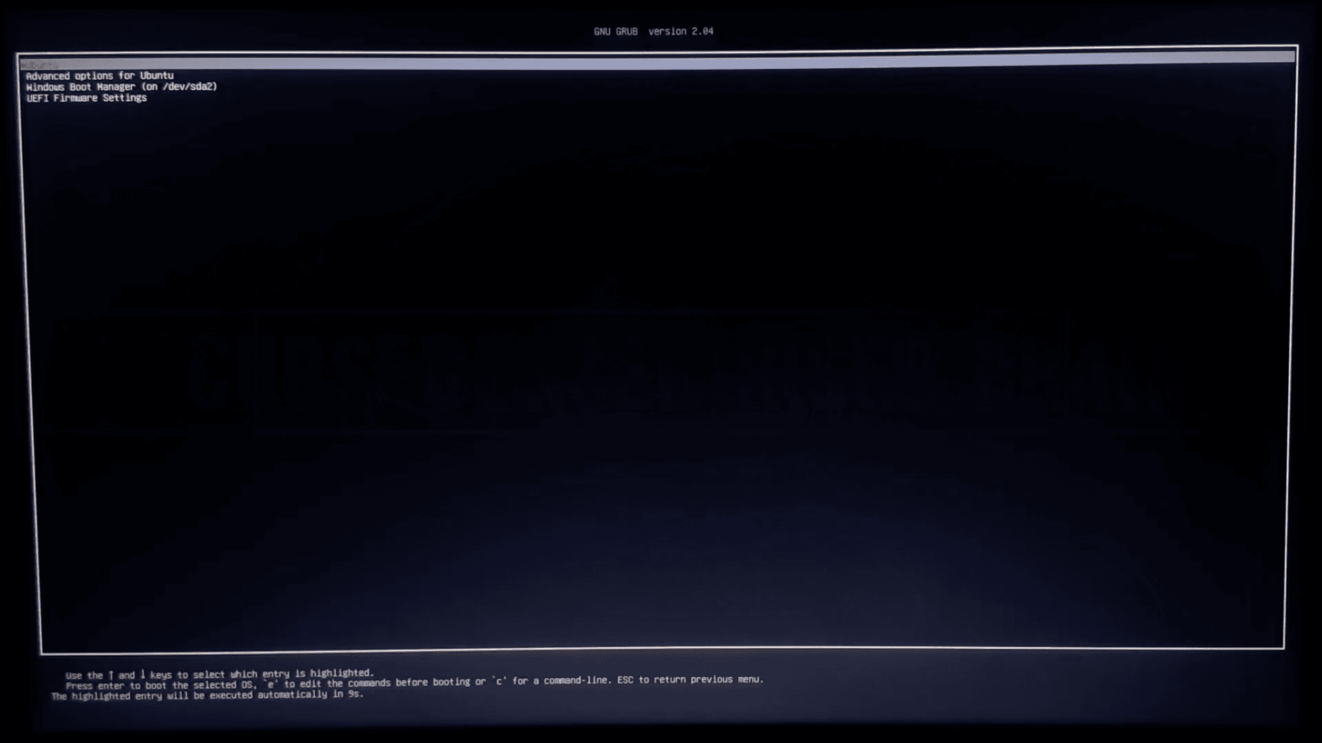 select ubuntu from the bootloader How Dual Boot Ubuntu