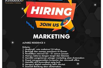 Lowongan Kerja Marketing Alfarez Residence 5