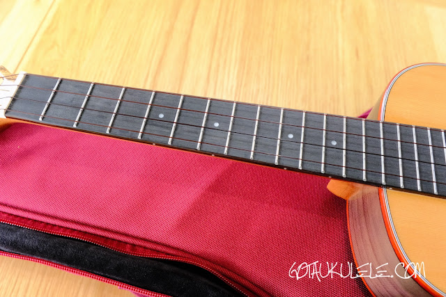 Flight Diana Soundwave Tenor Ukulele neck