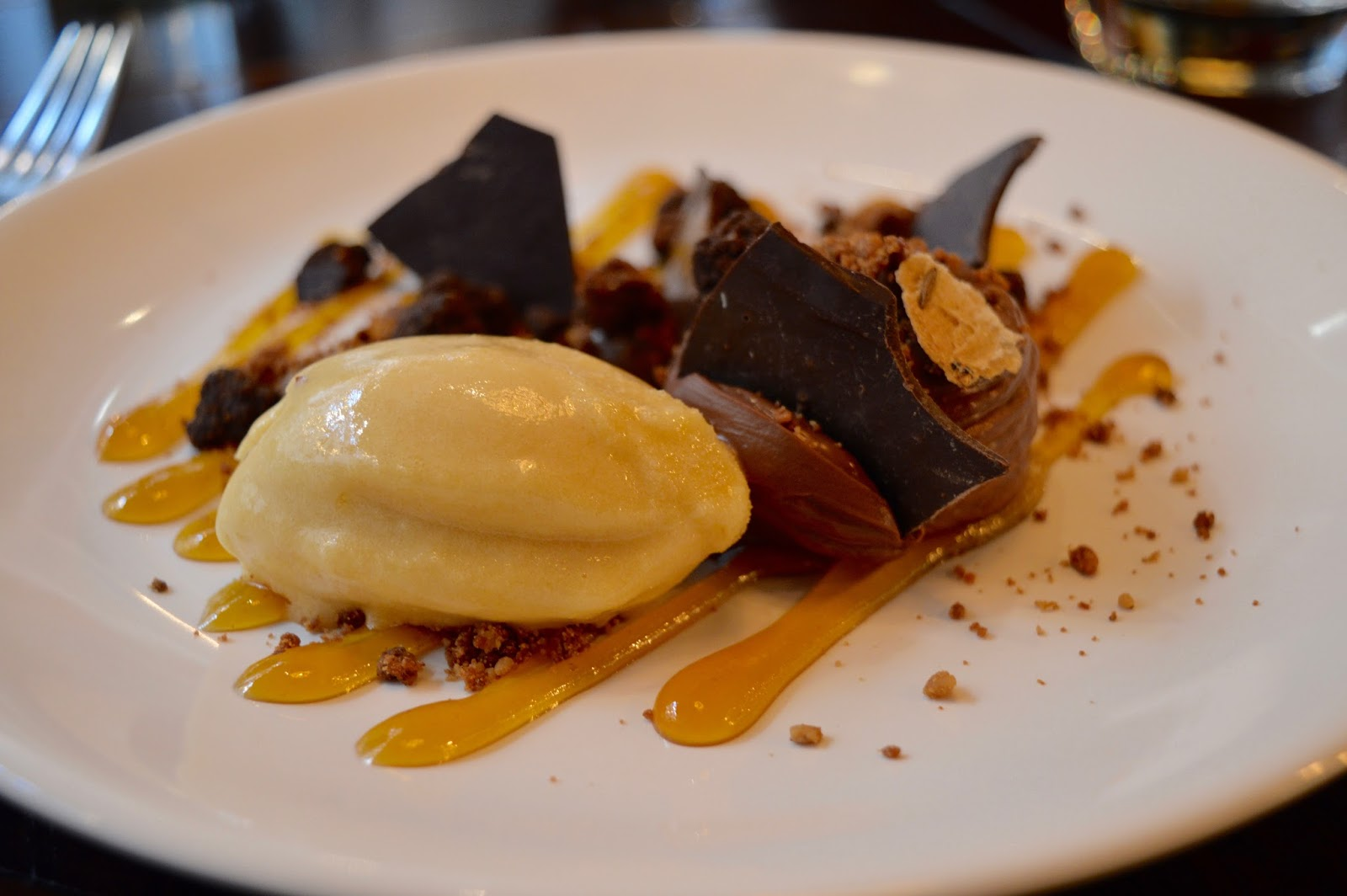 Dobson and Parnell Newcastle Menu Review - chocolate and passionfruit