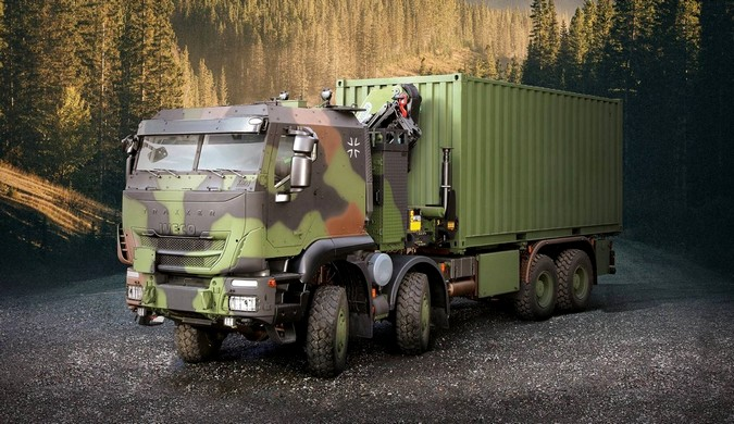 Exército alemão adquire 1.048 caminhões IVECO Trakker