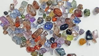 Pedras preciosas na América do Sul