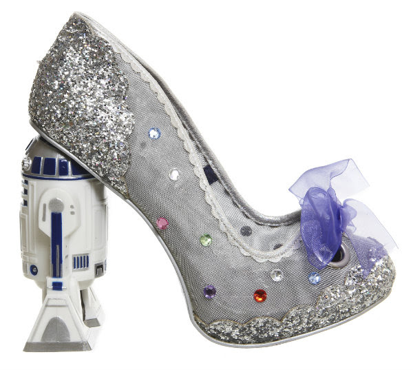 Irregular Choice disney star wars glitzy artoo