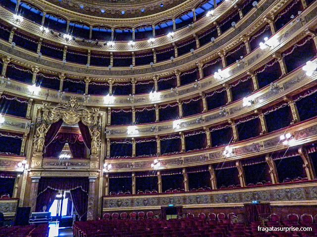 Camarote Real do Teatro Massimo de Palermo