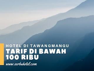 Hotel Di Tawangmangu Dengan Tarif Di Bawah Rp100.000