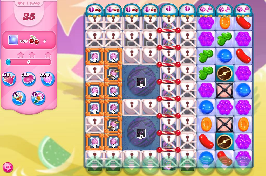 Candy Crush Saga level 9940