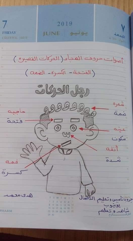 شيتات تأسيس اللغة العربيه للأطفال للاستاذة/ هدى محمد 1